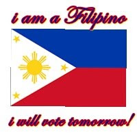 I am a proud Filipino, I will vote