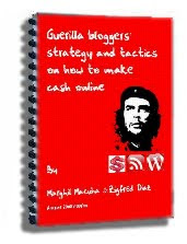 free e-book, Guerilla Blogging