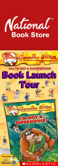 Geronimo Stilton, I'm Not A Supermouse