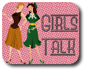 Girls Talk badge
