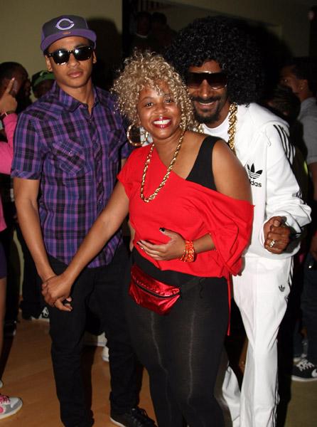 Snoop Dogg Son Corde Broadus 16Th 80s Style Birthday Party