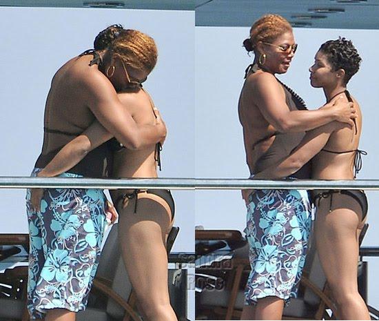queen latifah jeanette jenkins Twin Sisters Having Lesbian Sex   Lesbian Spread Ass