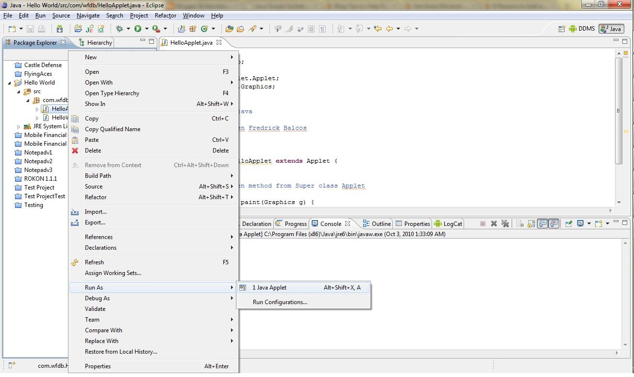 Drawing Lines Java Applet : Java applet tutorial abalori au