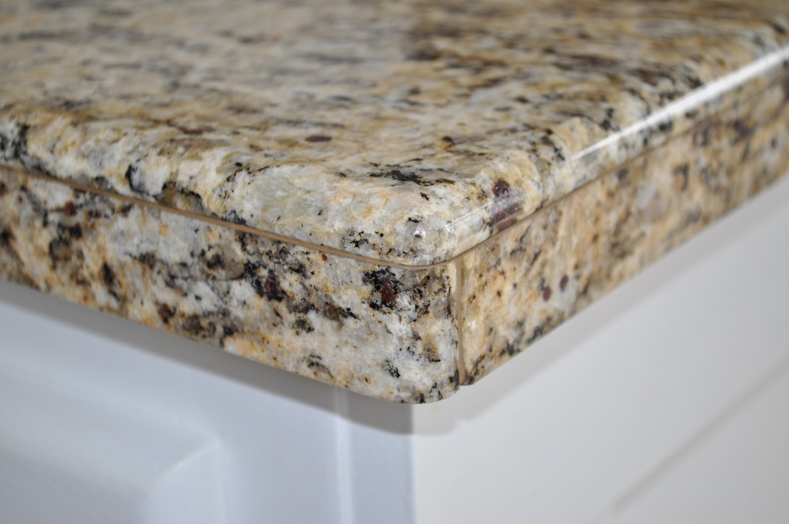 The dizzy house diy granite mini slabs undermount sink for How thick is granite