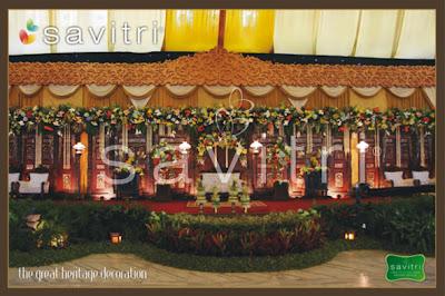 savitri wedding beauty: wedding decoration : menciptakan
