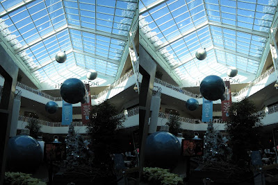 mall of America bulbs in 3d