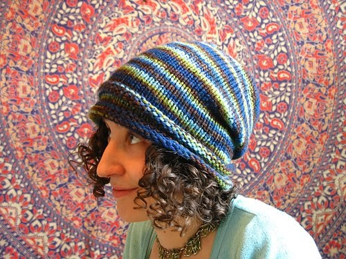 Knitting Pattern Toque : bohoknits: Mountain Nights Toque