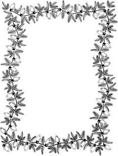 Desenho Molduras De Natal