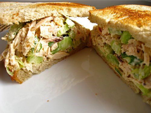 recipe: chicken salad sandwiches with canned chicken [4]