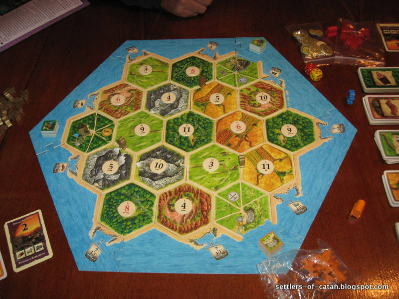 settlers of catan instructions