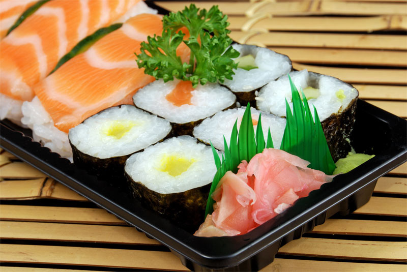 Best japanese best sushi bar menu japanese food low fat for Best fish for sushi