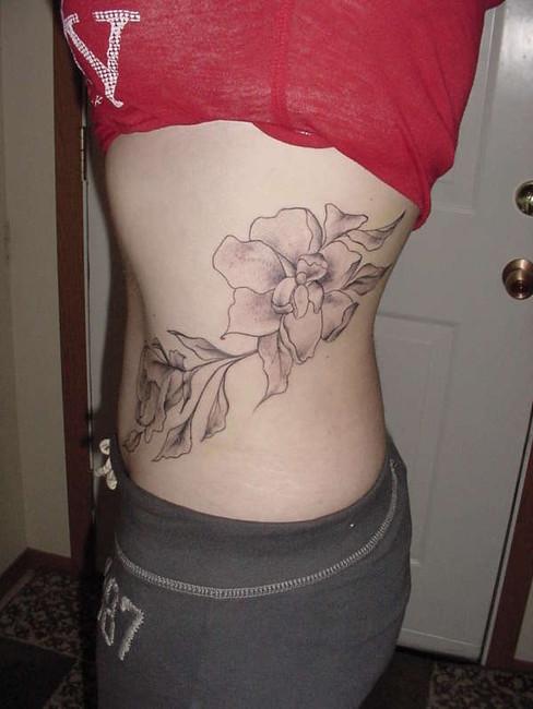 lower hip tattoos
