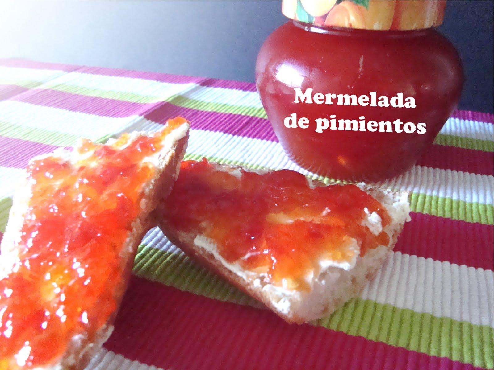 5 sentidos en la cocina mermelada de pimiento rojo - Mermelada de pimientos rojos ...