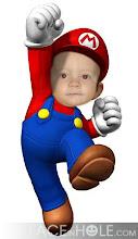 Landon As Mario