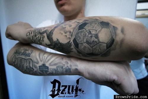Tattoo Football Triball