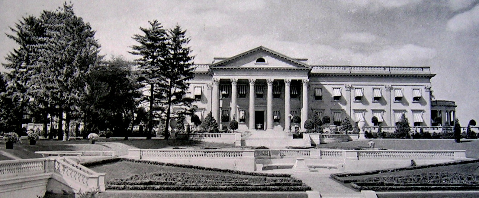 Mansions Of The Gilded Age Lynnewood Hall Elkins Park Estate Of Peter A B Widener