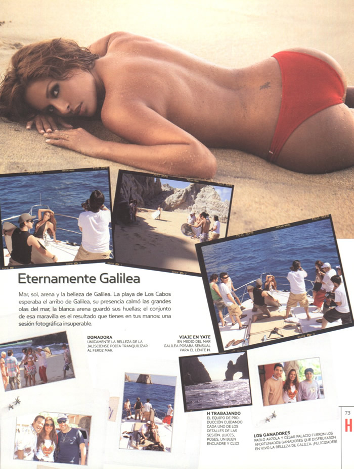 Galilea Montijo Revista H