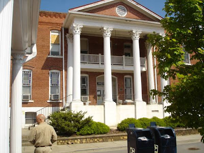 Old Gilmer County Ga courthouse