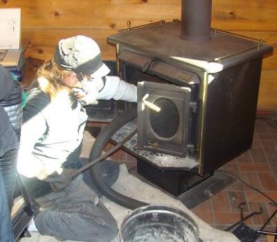 chimney sweep snake brush