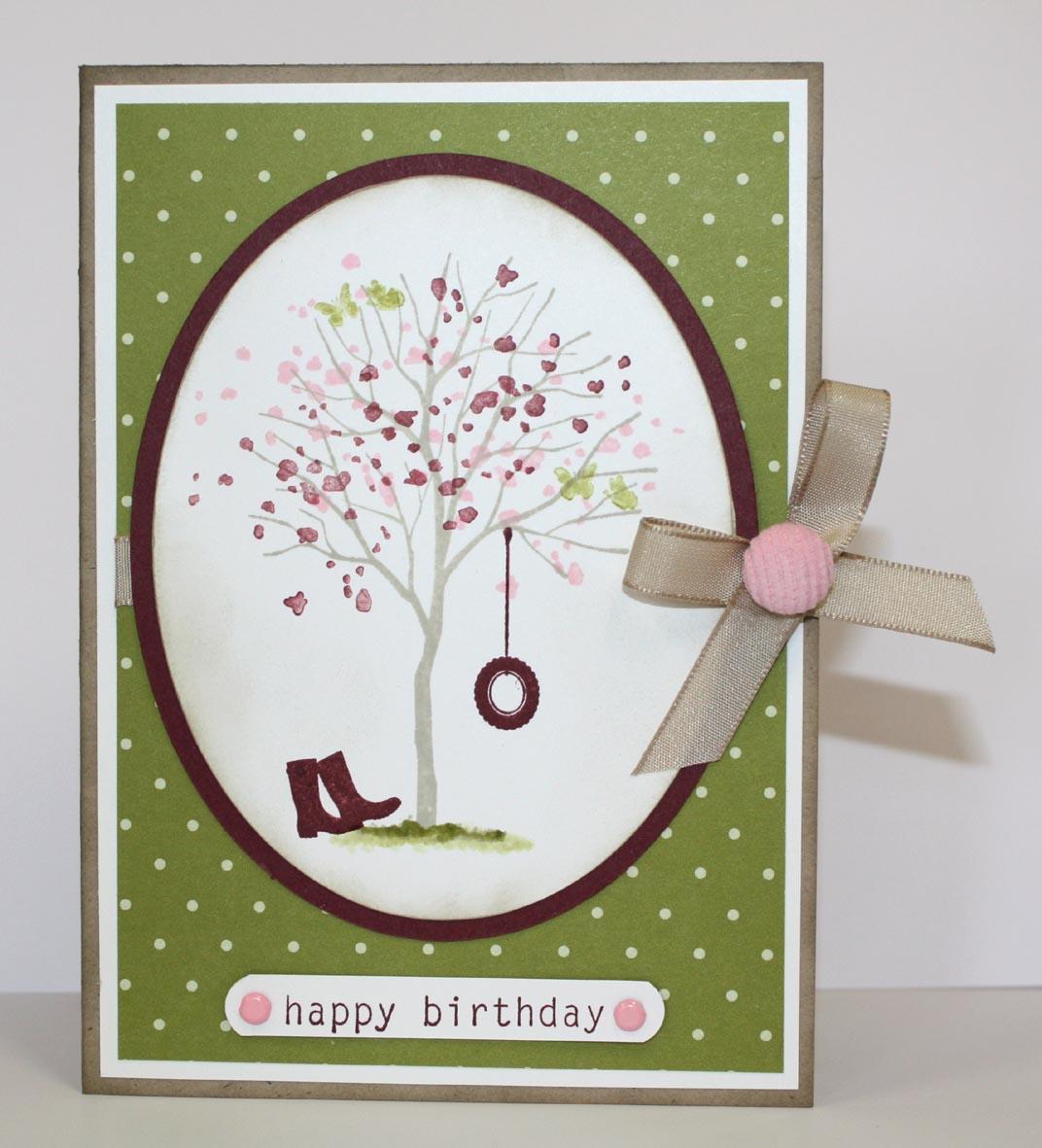 Crafty Kims Creations Happy Birthday Cards