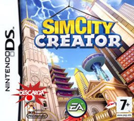 Nds roms - SimCity Creator