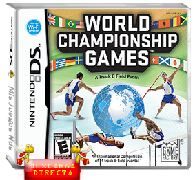 roms nds - World Championship Games - A track & Field Event