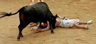 испанская коррида, смерть тореадора