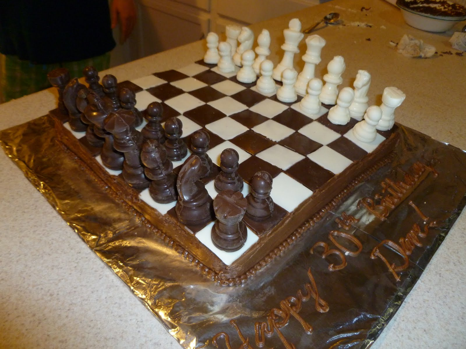 how to make cassaba cake with chess on top