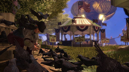 Four New Screenshots From BioShock Infinite