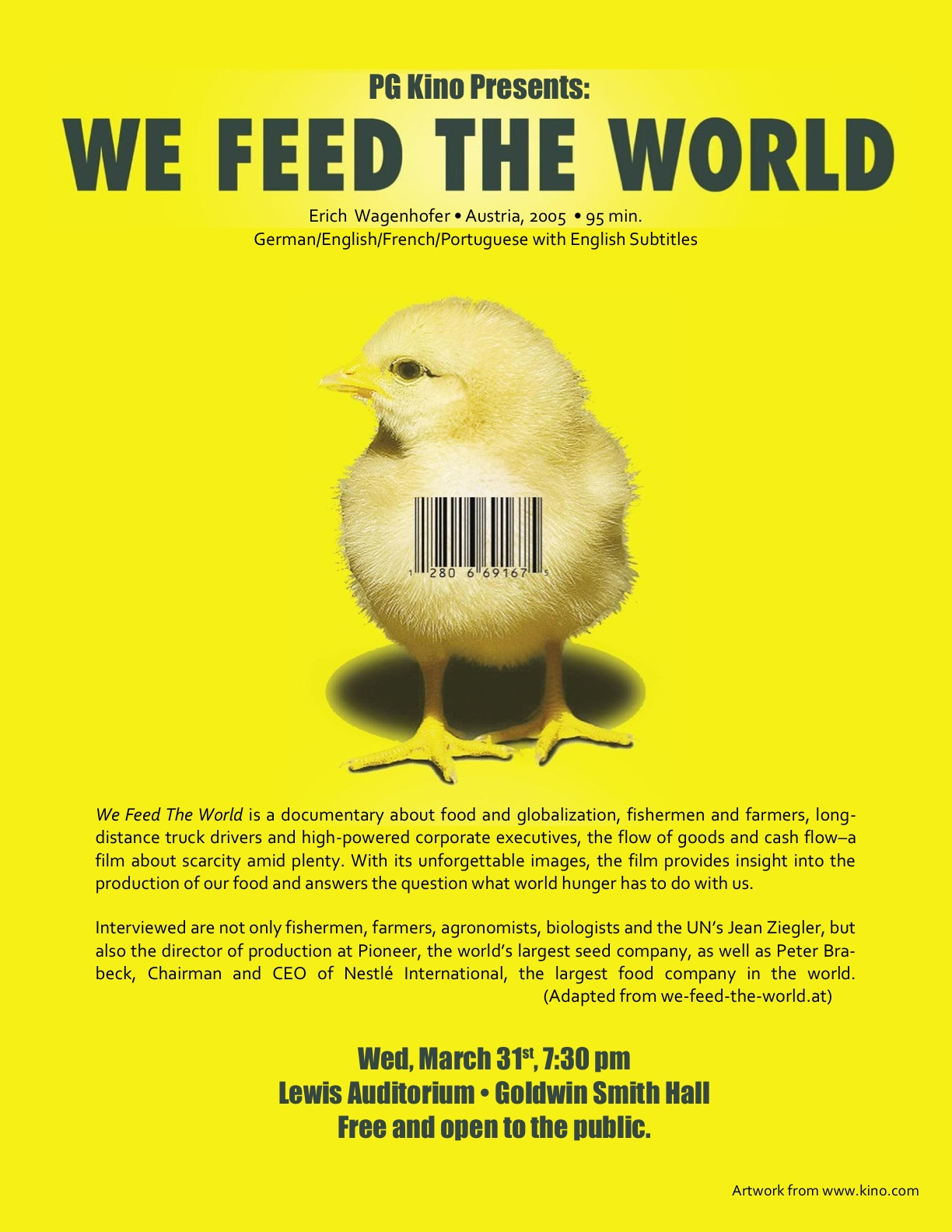 We Feed the World // Le Marché de la Faim