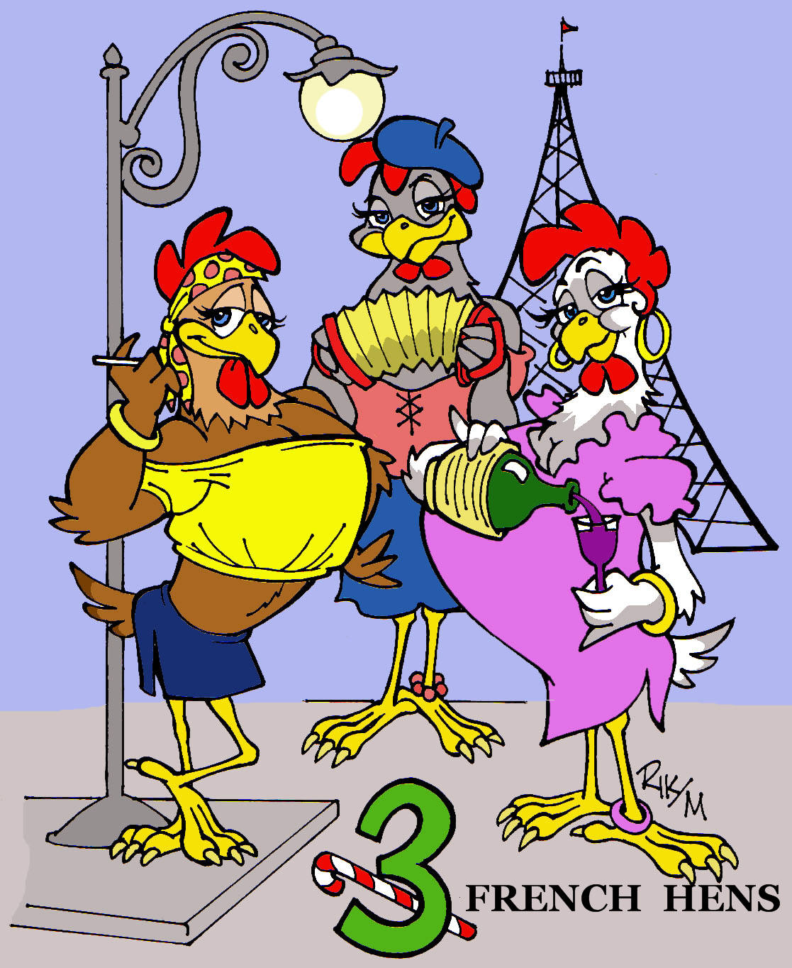 Riktoonz -- Cartoonist/Caricaturist Rick C. Moore: On the 1st, 2nd ...