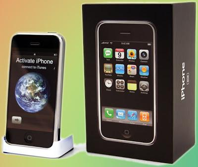 Assim é o iPhone bloqueado, saído da caixa