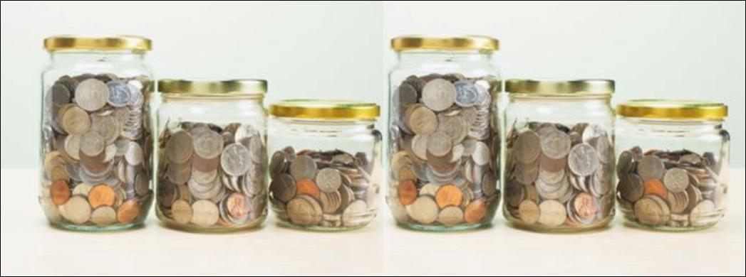 Money Jar System 6 Jars Money Management System