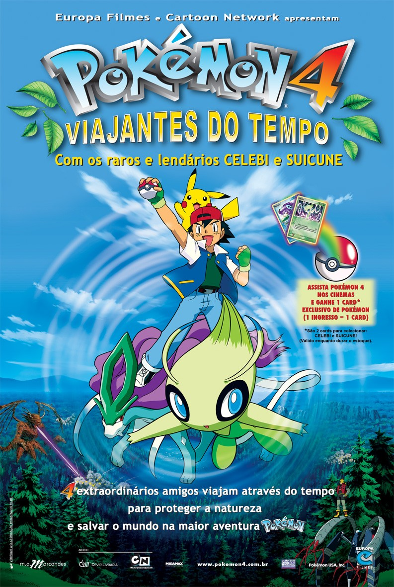 Pokemon 4   Viajantes do Tempo Download Filme