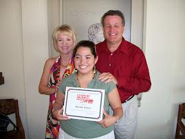 Megan Graduates!!!