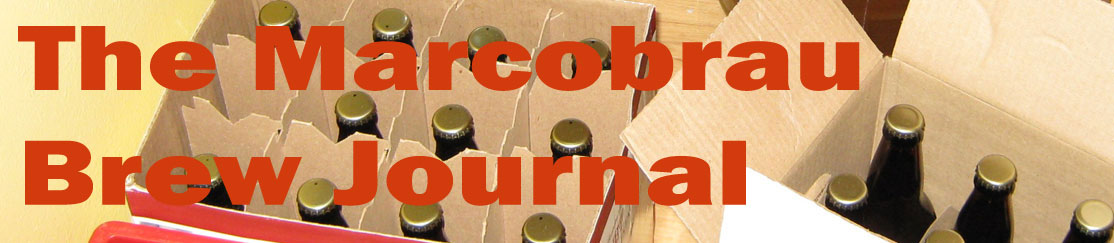 Marcobrau Brew Journal