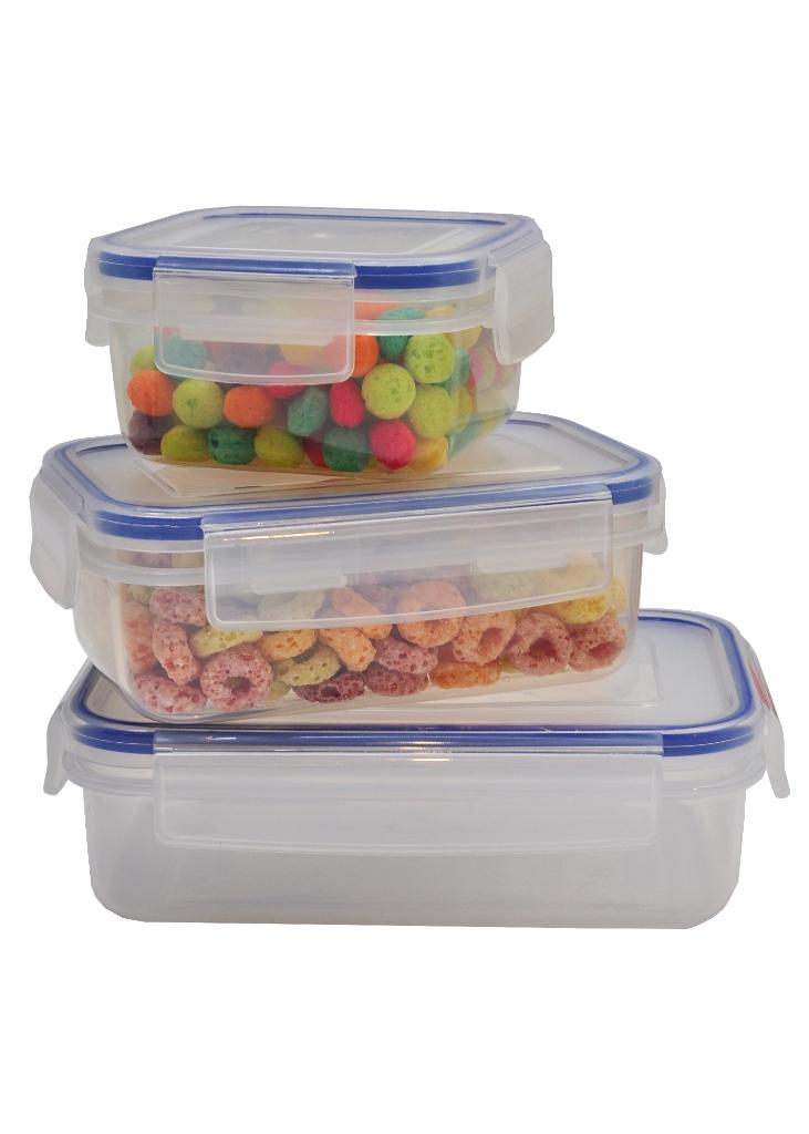 Biokips airtight, leakproof and BPA-free rectangular shaped food ...