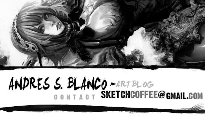 Ninja Maids! Andres S. Blanco Artblog