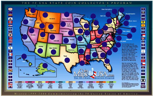 Now There Is A Quarter Representing Each State How Many States Are There