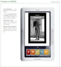 "My modeling memoir Almost 5&#39;4"" is on the Nook"