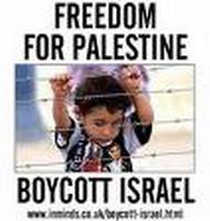 Lets boycott israel