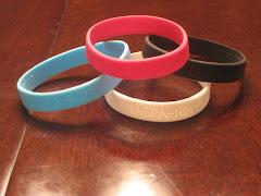 Silicone Bracelets Tasfa means Hope