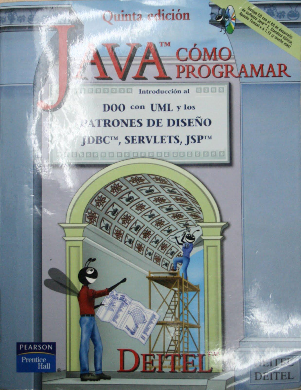Ingenier a de sistemas deitel deitel como programar en for Como programar en java
