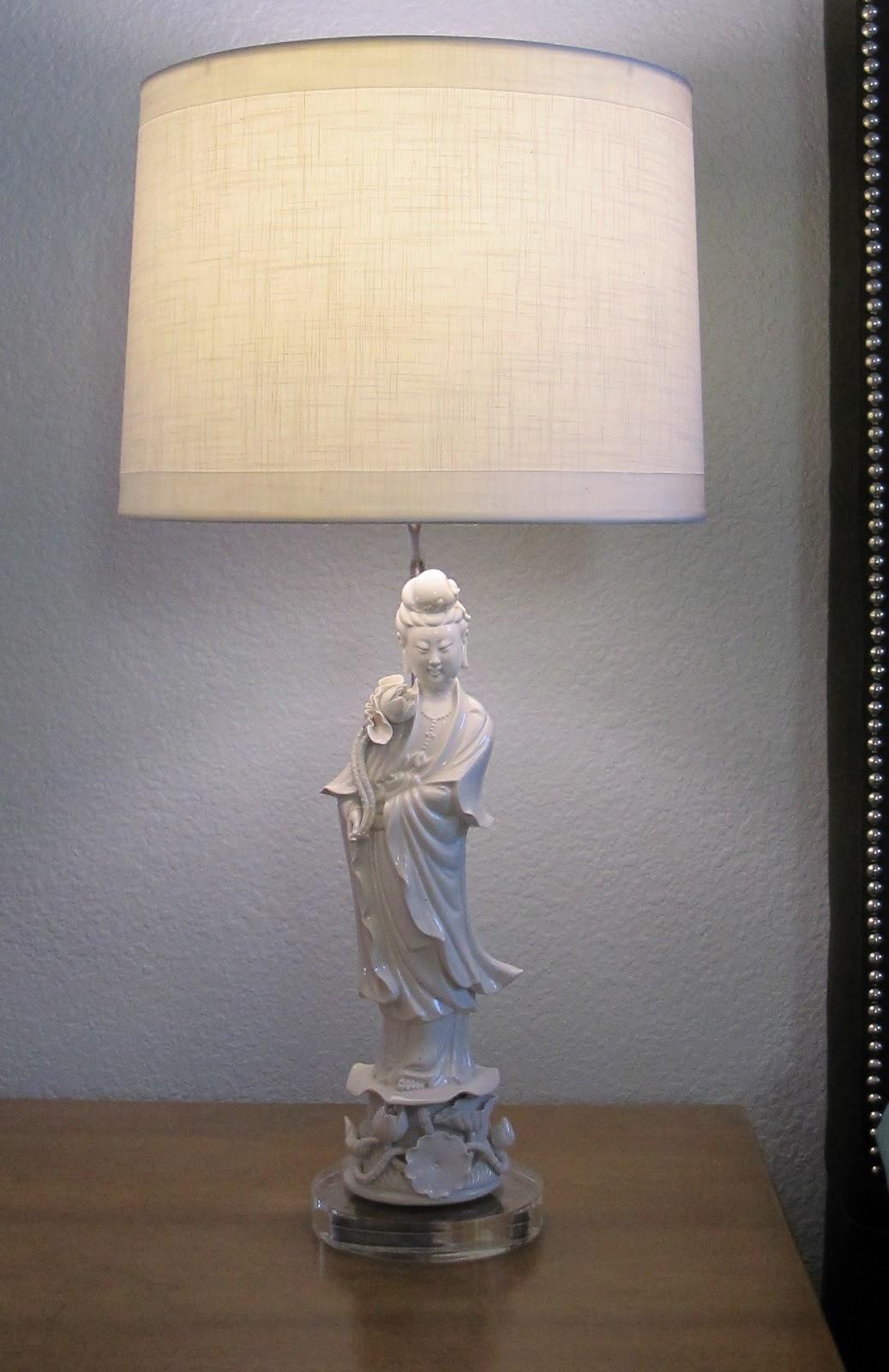 Modern Oasis Master Bedroom Blanc De Chine Lamps Part 2