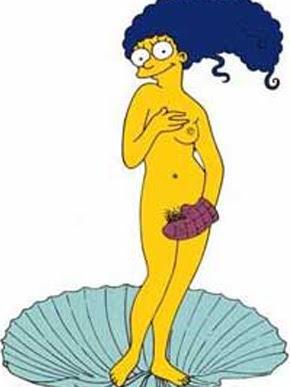 Marge Simpson Nua Na Playboy Americana