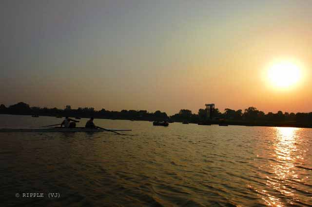 A Very Old Visit To Sukhna Lake In Chandigarh