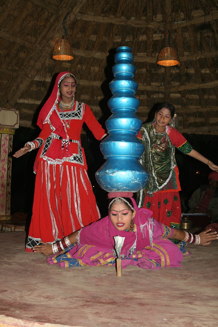 Photograph of Traditional dance at Chokhi Dhani