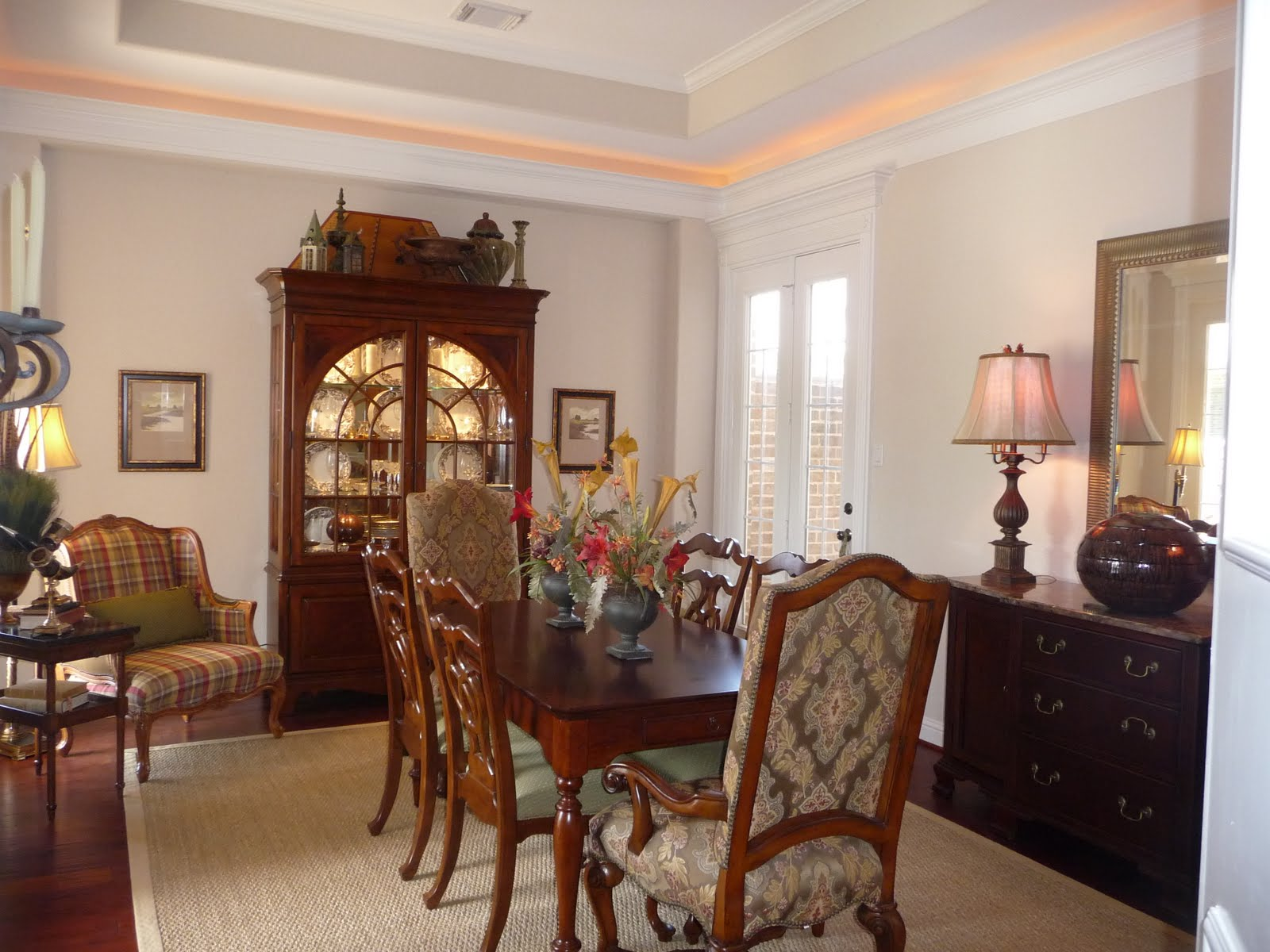 Home interior design and decorating ideas dining room for Images of decorated dining rooms