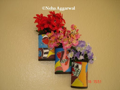 Get Crafty Photos: Flower Pots from Waste Material