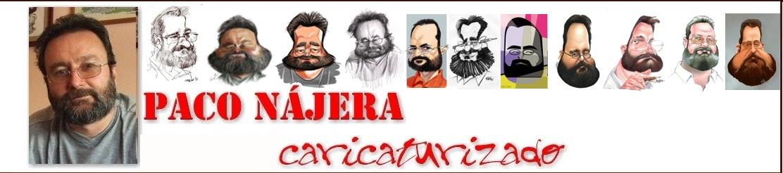 Paco Nájera caricaturizado